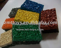 Supply Colorful EPDM Rubber Granule Flooring