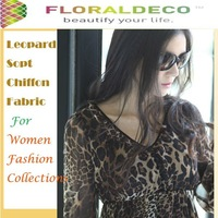Gorgeous Leopard Chiffon Fabric