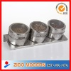 Stainless steel Salt pepper Set/glass canister