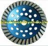 7'' Diamond Turbo grinding cup wheel in abrasive tools