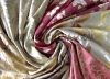 Yarn dyed silk jaquard fabric
