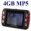 "4G 4GB 2.4"" LCD FM TRANSMITTER Car MP3 MP4 MP5 AVI Player"