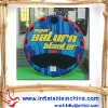 round and suitable for three people inflatable water towable tube /ski