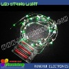 New 3M 30 lights house decorative red led wire light