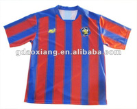 Customized cool dry sublimated soccer jersey