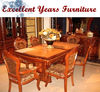 Picture of antique wooden dining room set NF-SJ-19 on sale