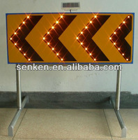Arrow Solar Construction Signal Signs