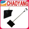 The Euro Level 55.1-inch PE Spade Snow Shovel