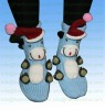 Woman and children Knitted home non-skid acrylic socks