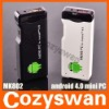 MK802 Android 4.0 Mini PC Thumb Drive Smart Mini Google HD Player Black/White