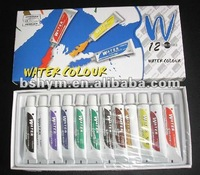 non-toxic Water color paint 12ml 12color