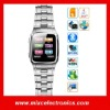 1.6 inch touch Screen Watch Mobile phone With Stainless stain