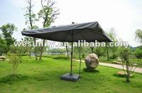WU-005A Big Valle Solar Auto. outdoor umbrella