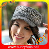 Ladies military wool cap