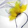 2012 fascinator flower brooches for wedding and party