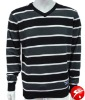Mens stylish pullover knitted sweaters