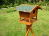 WOODEN BIRD FEEDER BIRD HOUSE