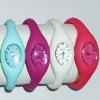 New coming fashion slicone watches for Lady