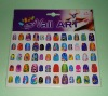 3D nail stickers,art nails, fashion nail stickers,nail care,nail art,promotional gift