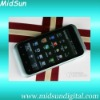 G20 cell phone MTK 6573 android 2.3 3G WCDMA+GSM 3.5 inch touch screen GPS TV WIFI dual sim dual camera