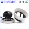 Wireless WiFi IR LED Security IP Camera Nightvision White