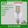 3.5W E14 LED light