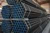 erw black round steel pipe