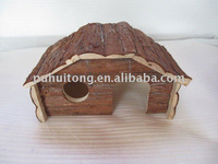 Wooden Squirrel/ hamster / hedgehog house