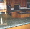 Domestic Butterfly Green Countertop