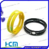 Newest for balance silicone rubber bracelet personalized silicone bracelets