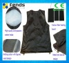 2300mA intelligent electrical heating vest for middle age