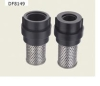 plastic foot valve with s.steel filter