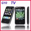 Mini TV Mobile GSM dual sim mobile phone Quad Band Dual SIM Dual Standby G10 Free 2GB