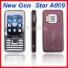 "Quad band 2.6"" FM Super Slim Bluetooth Mobile Cell Phone A009"