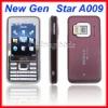 "Quad band 2.6"" FM Super Slim Bluetooth Mobile Cell Phone A009"