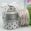 Silver Ribbon,Fabric Ribbon