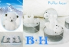 BH800827 polar bear tealight