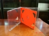 10.2mm  double CD case(CD sleeve,CD box) with red tray