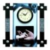 PAINTING WALL CLOCK--Craft clock