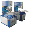 HR-5000E Turntable working high frequency plastic welding machine