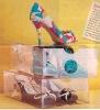 transparent shoe case