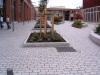 Granite paving stone tiles
