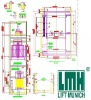 LMH Erzgebirge* Cargo Freight Elevator vertical lift system
