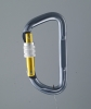 Safety alloy carabiner