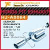 Hign quality Exhaust Systems for Honda Fit