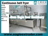 continuous belt deep fryer,potato chips fryer machine, Kurkure fryer,