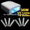 36W nail uv light dryer