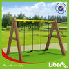 Outdoor Galvanized Metal Swing Sets LE-QQ008