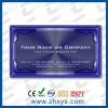 metal business card /metal card/cheap metal business cards china color