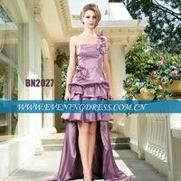 Taffeta short front long back prom dress 2012 BBN2027